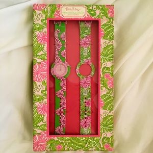 Lilly Pulitzer interchangeable band watch